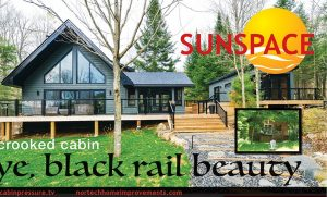 Colin & Justin's Cabin Pressure and Sunspace by Nortech